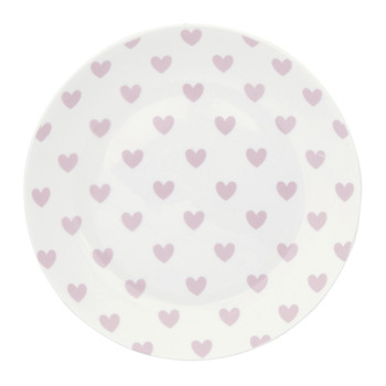 Rose Hearts Plate