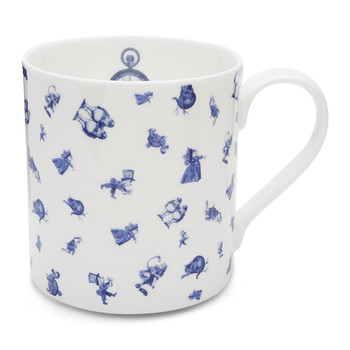 Alice Chintz Mug - White