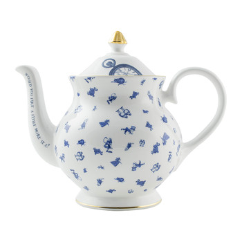 Alice Chintz Teapot - White