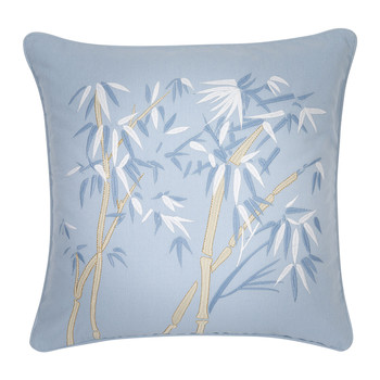 Bambou Cushion - 45x45cm - Chambray