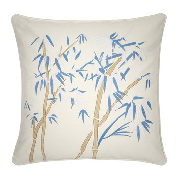 Bambou Cushion - 45x45cm - White
