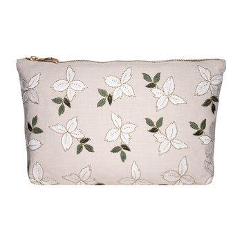 Jasmine Wash/Clutch Bag - Rose