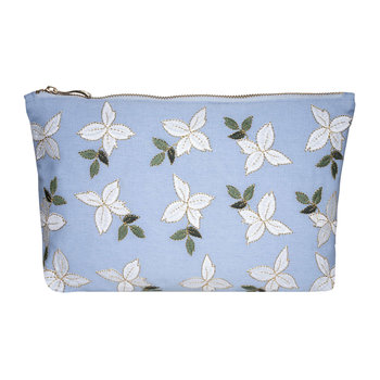 Jasmine Travel Pouch - Chambray