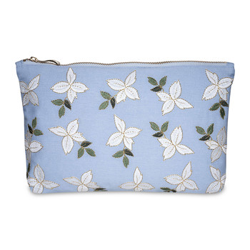 Jasmine Wash/Clutch Bag - Chambray
