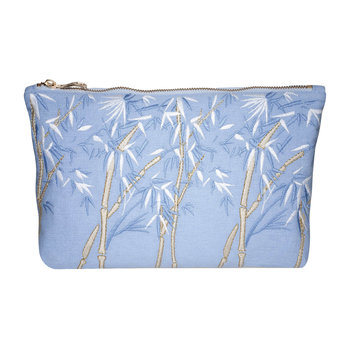 Bambou Wash/Clutch Bag - Chambray