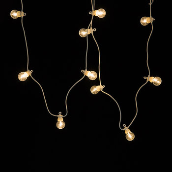 Lucas White String Lights - Warm White