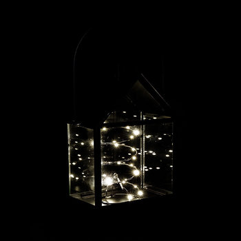 Lauritz LED Lantern - 30cm - Black