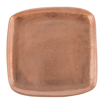 Eclipse Rose Gold Square Plate