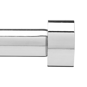 Cappa Curtain Pole - Chrome