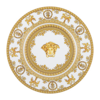I Love Baroque Plate - 18cm - White