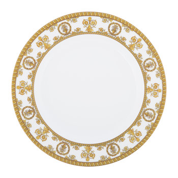 I Love Baroque Plate - 22cm - White