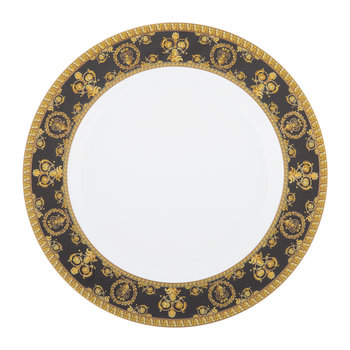 I Love Baroque Plate - 22cm - Black