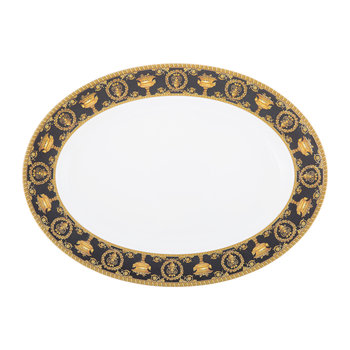 I Love Baroque Platter - Black