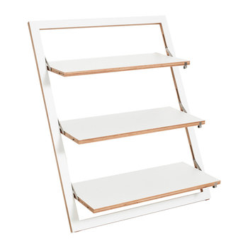 Flapps Triple Leaning Shelf - 100x80cm