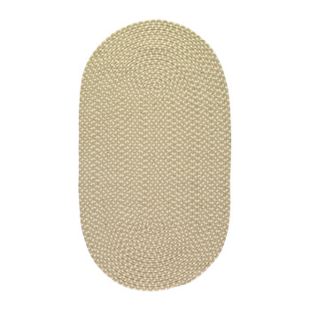 Eco Braid Rug - 61x91cm - Putty/Cream