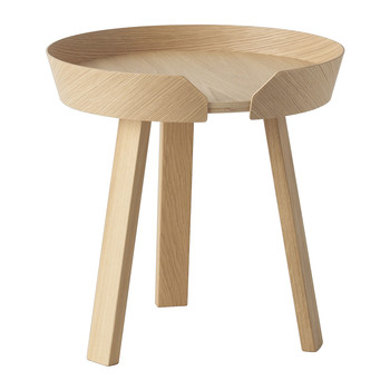 Muuto - Table basse Around - Chêne - Petit