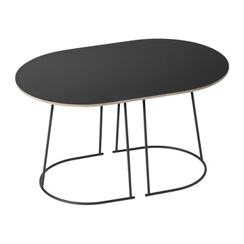 Airy Small Coffee Table - Black
