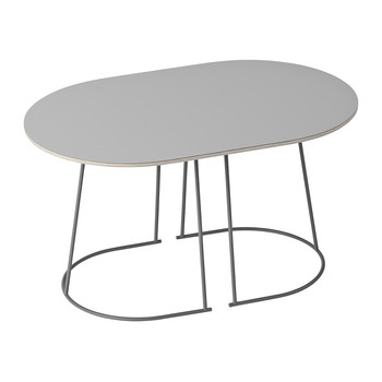 Airy Small Coffee Table - Grey