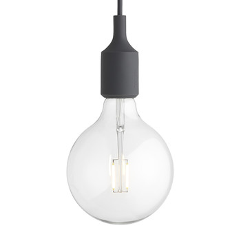 E27 Pendant Lamp - Dark Grey