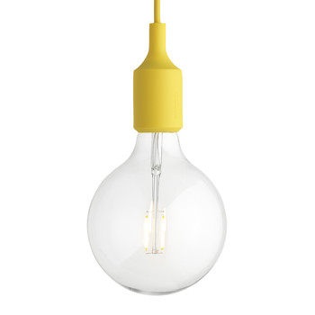 E27 Pendant Lamp - Yellow