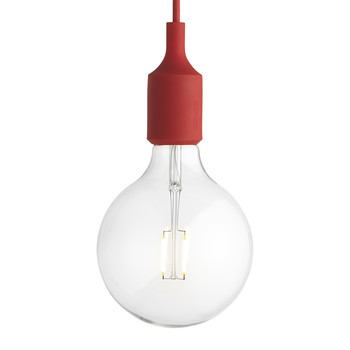 E27 Pendant Lamp - Red