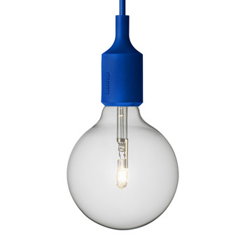 E27 Pendant Lamp - Blue
