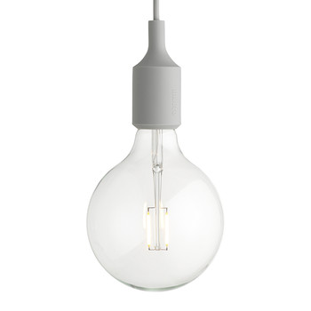 Lampe Suspension E27 - Gris clair