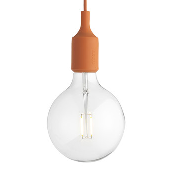 Lampe Suspension E27 - Orange