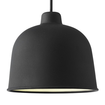 Grain Pendant Lamp - Black