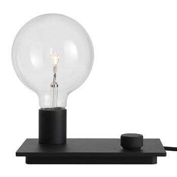 Control Table Lamp - Black