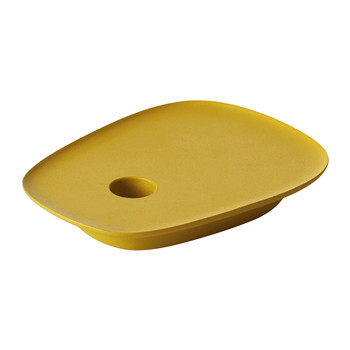 Float Candlestick Holder - Yellow