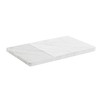 Groove Plate - White