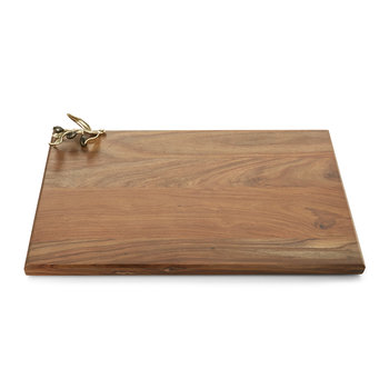 Olive Branch Serving Board - Gold