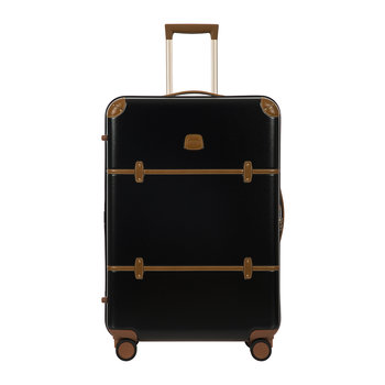 Bellagio Trolley Suitcase - Black/Tobacco