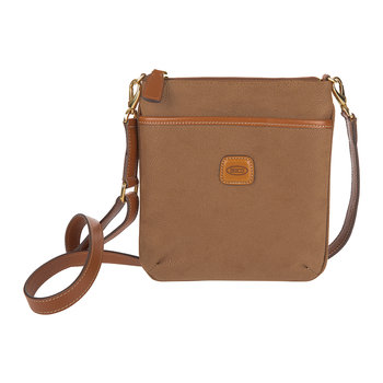 Cindy Small Cross-Body Bag - Camel