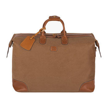 Life Top-Framed Holdall - Camel