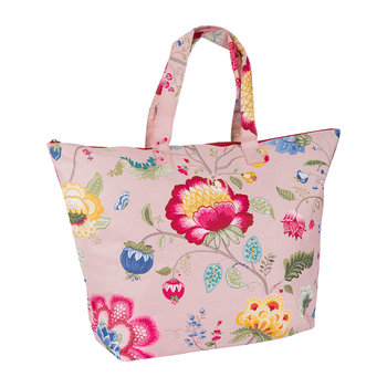 Floral Fantasy Beach Bag - Old Pink