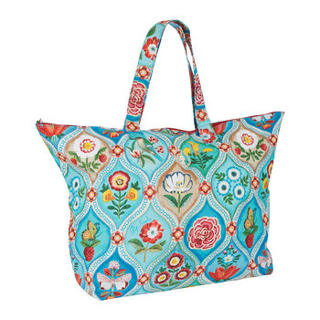 Fairy Tiles Beach Bag - Blue