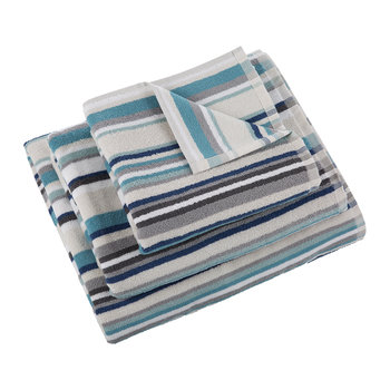Kalifi Stripe Towel - Harbour