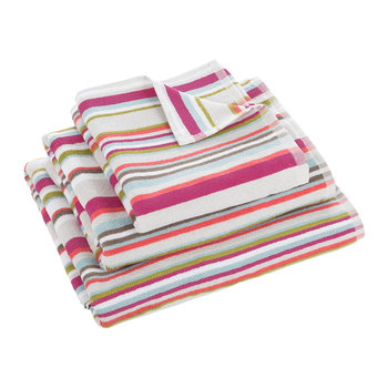 Kalifi Stripe Towel - Multi
