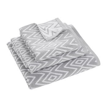 Kalifi Towel - Dove Grey