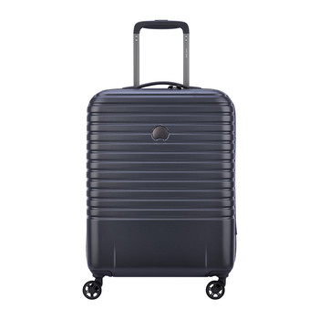 Caumartin 4 Wheel Slim Trolley Case - 55cm - Anthracite/Navy