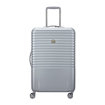 Caumartin 4 Wheel Trolley Case - 70cm - Silver/Ice Blue