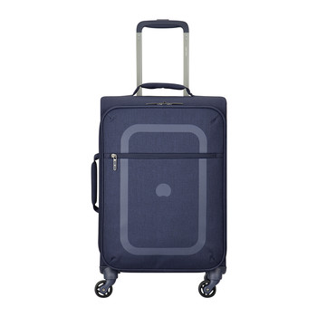 Dauphine 3 4 Wheel Trolley Case - Navy Blue