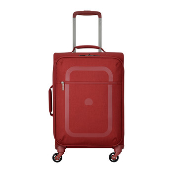 Dauphine 3 4 Wheel Trolley Case - Red