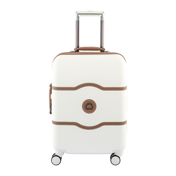 Chatelet Hard 4 Wheel Slim Trolley Case - 55cm - Angora