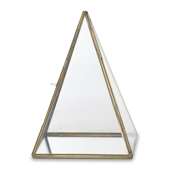 Bequai Display Pyramid - Antique Brass
