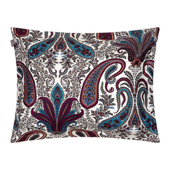 Key West Paisley Pillowcase - Eclipse Blue - 50x75cm
