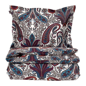 Key West Paisley Duvet Cover - Eclipse Blue