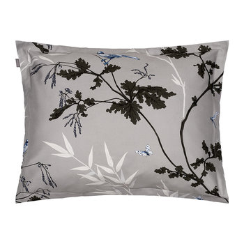 Birdfield Pillowcase - Grey - 50x75cm